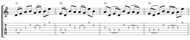 Variaciones 1-4