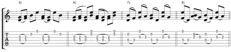 Variaciones 5-8