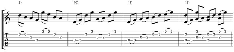 Variaciones 9-12
