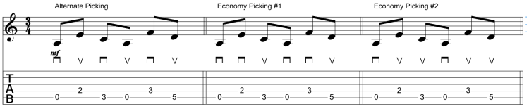 Alternate & Economy Picking