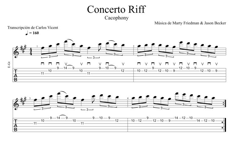 Concerto Riff