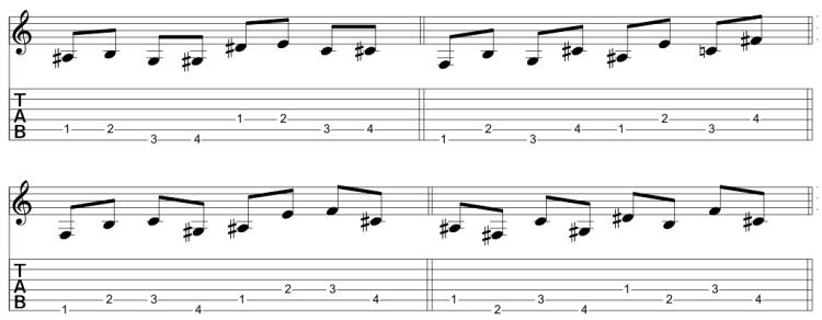 Combinando 2 cuerdas consecutivas (2)