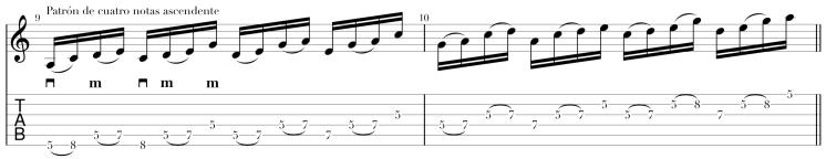 Patrón de cuatro notas ascendente.png